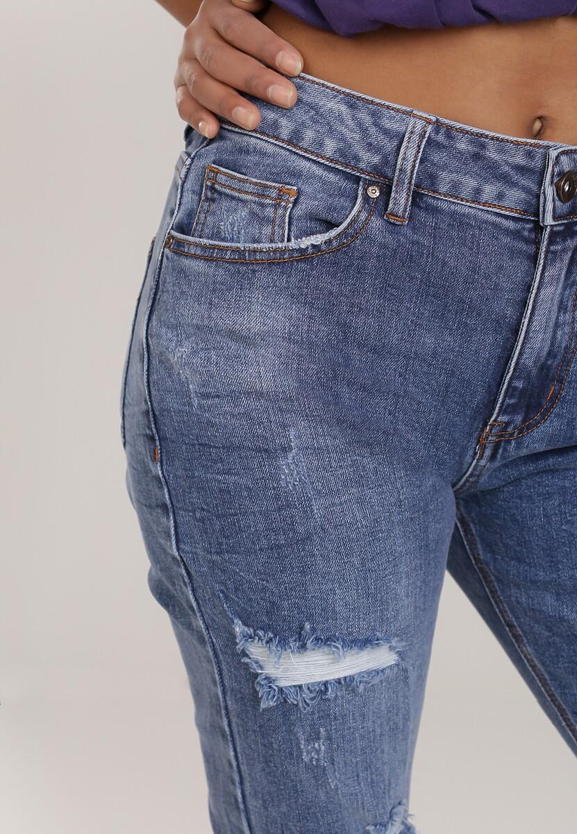 Niebieskie Jeansy Straight Zellyra