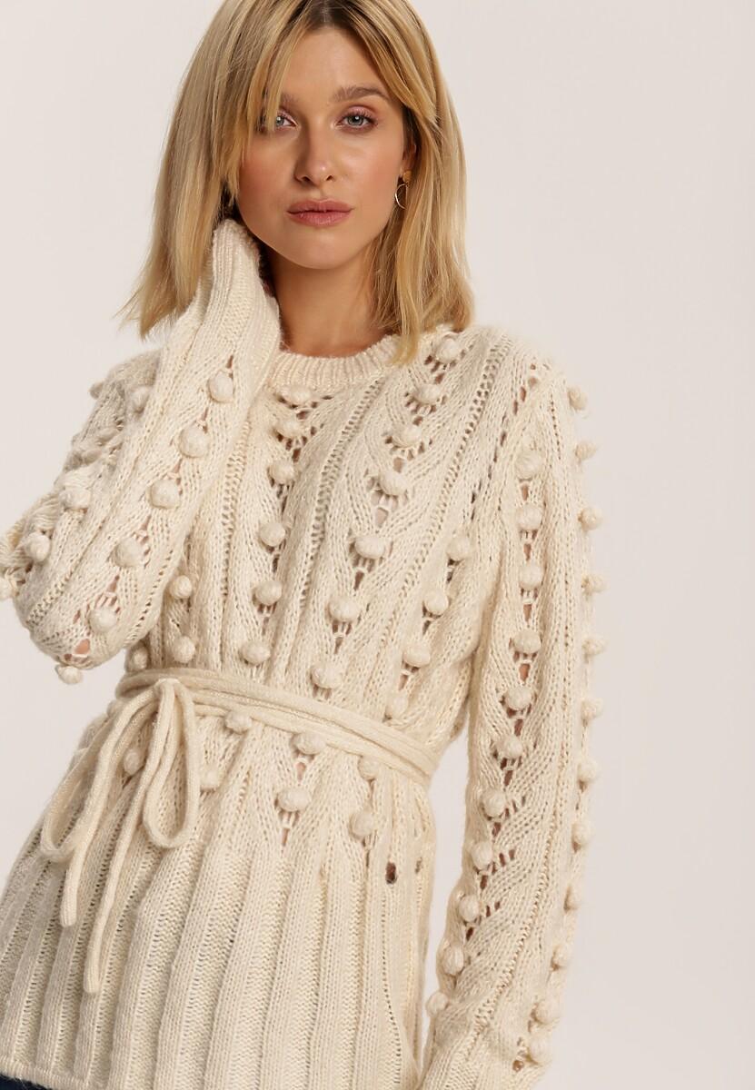 Kremowy Sweter Sharona