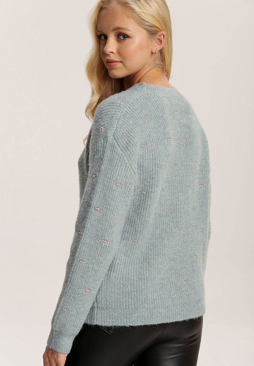 Jasnoniebieski Sweter Nessvyn
