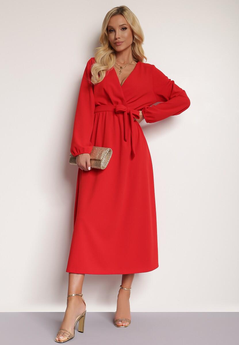 Czerwona Sukienka Elrinneth