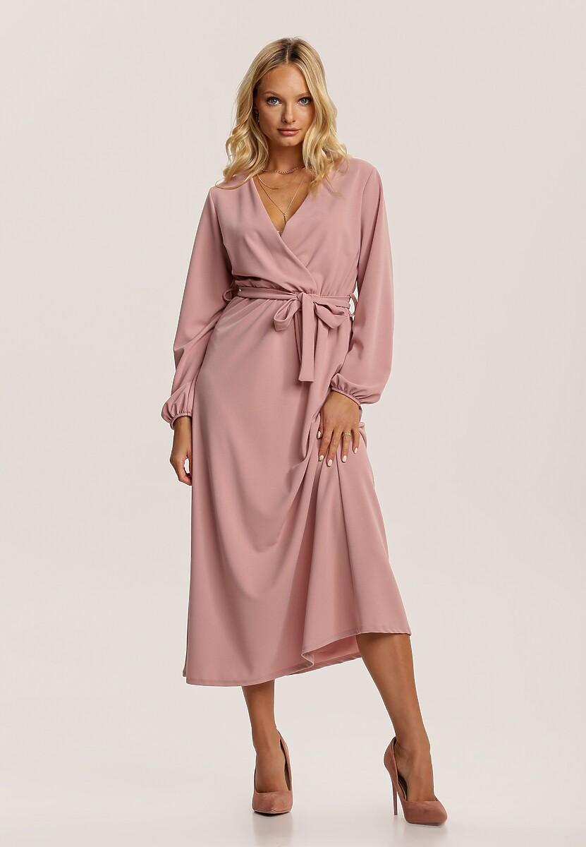 Różowa Sukienka Elrinneth