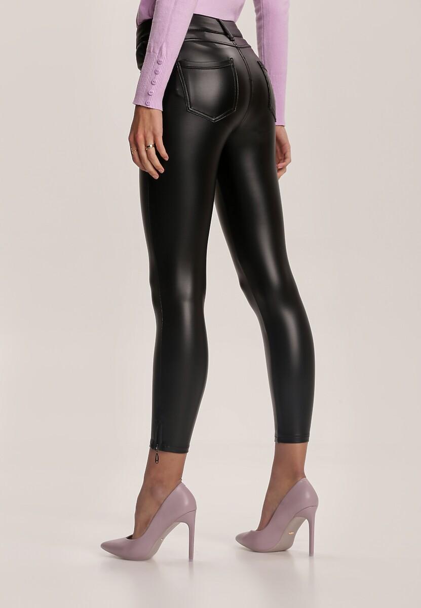 Czarne Spodnie Skinny Shirinyera