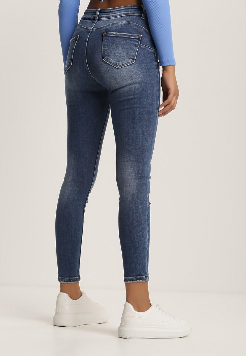 Niebieskie Jeansy Skinny Usinaris