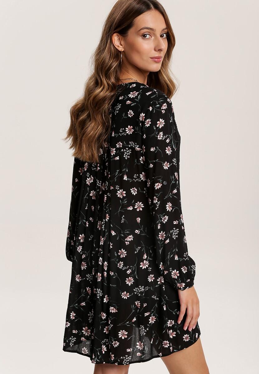 Czarna Sukienka Xisess