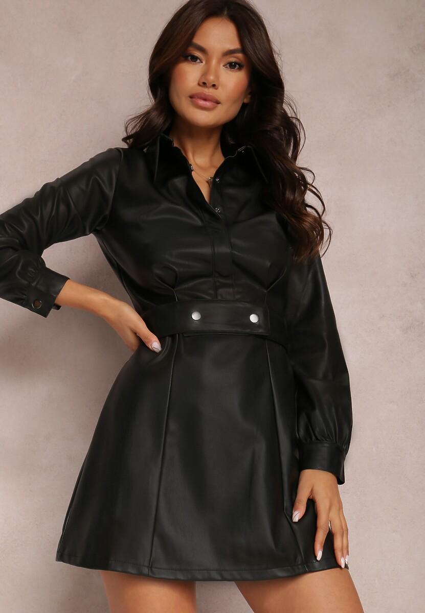 Czarna Sukienka Drenyera