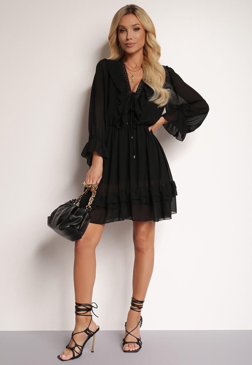 Czarna Sukienka Brizsha