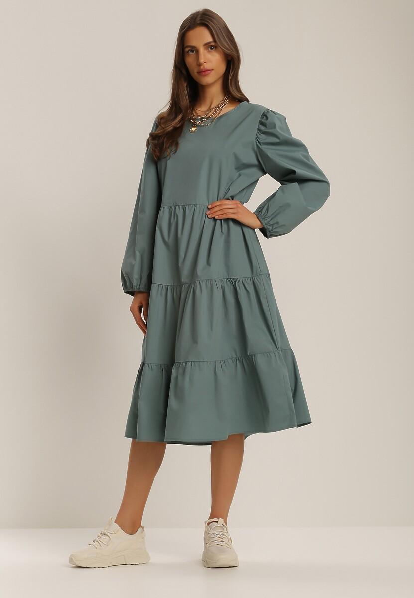 Zielona Sukienka Kelera