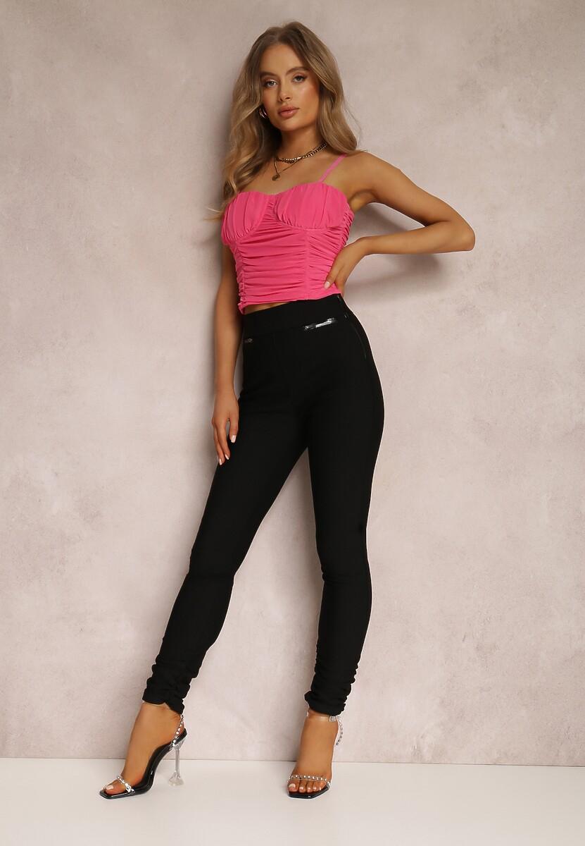 Czarne Spodnie Catyla