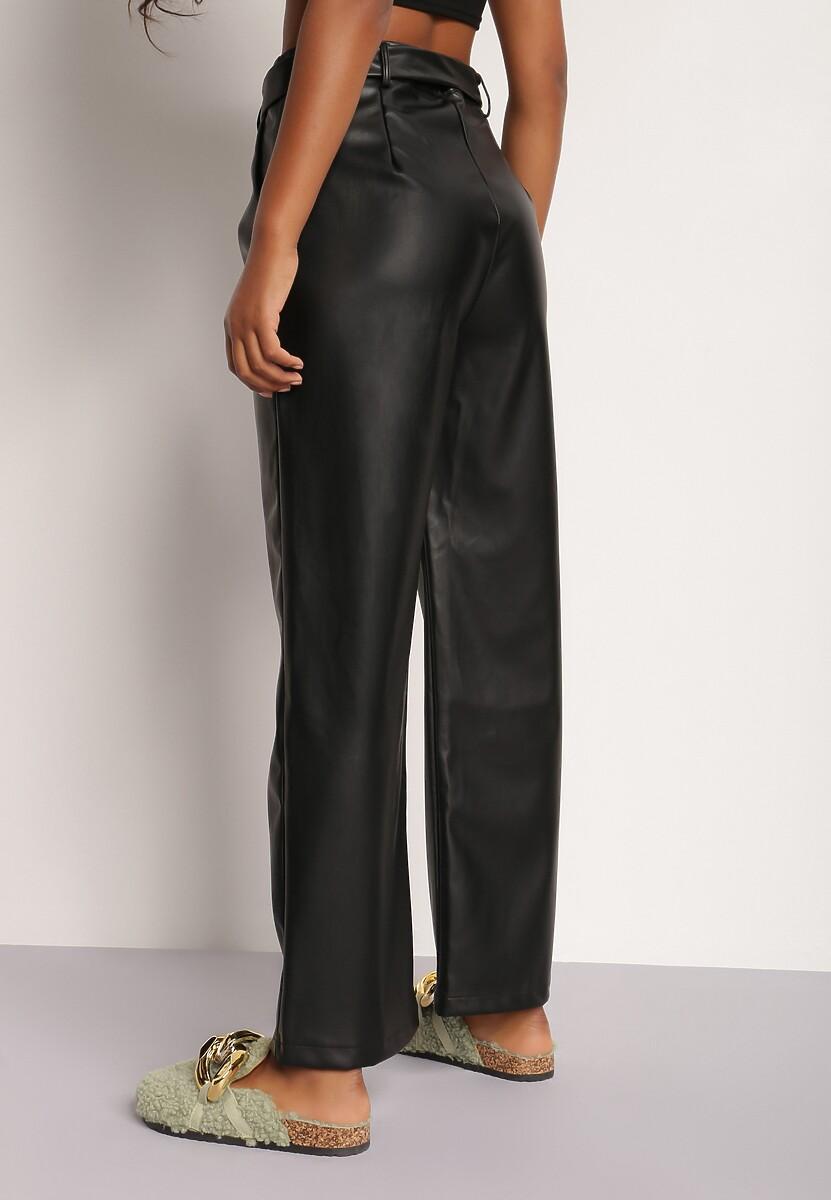 Czarne Spodnie Fyseryss