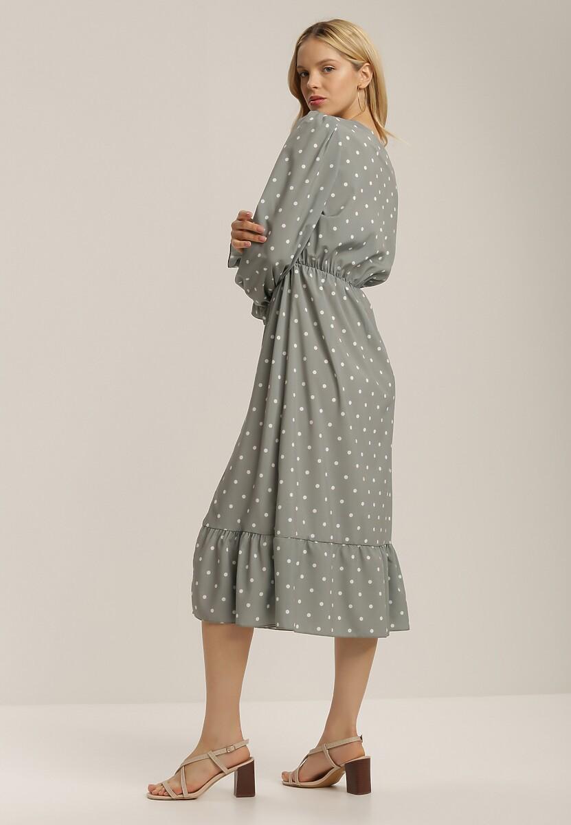 Jasnozielona Sukienka Meloros