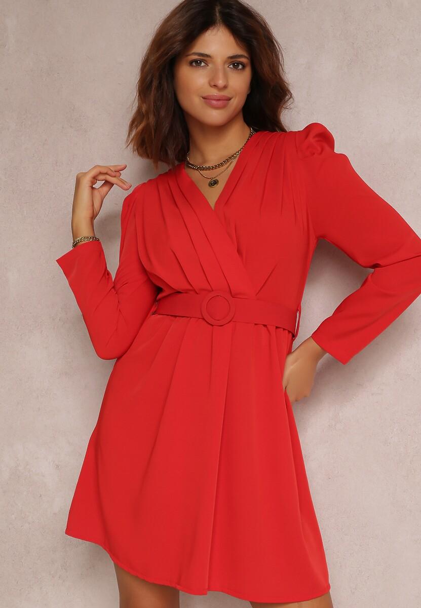 Czerwona Sukienka Salalodia