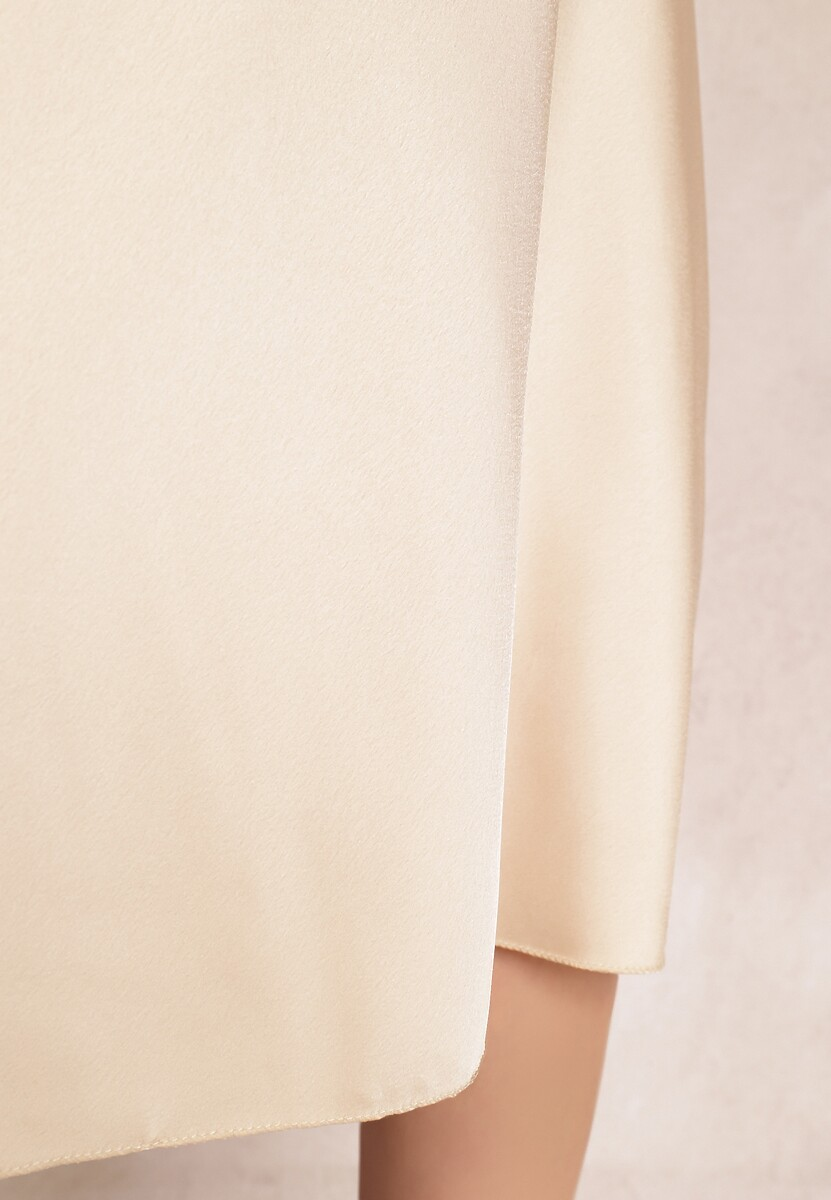 Kremowa Spódnica Acaria