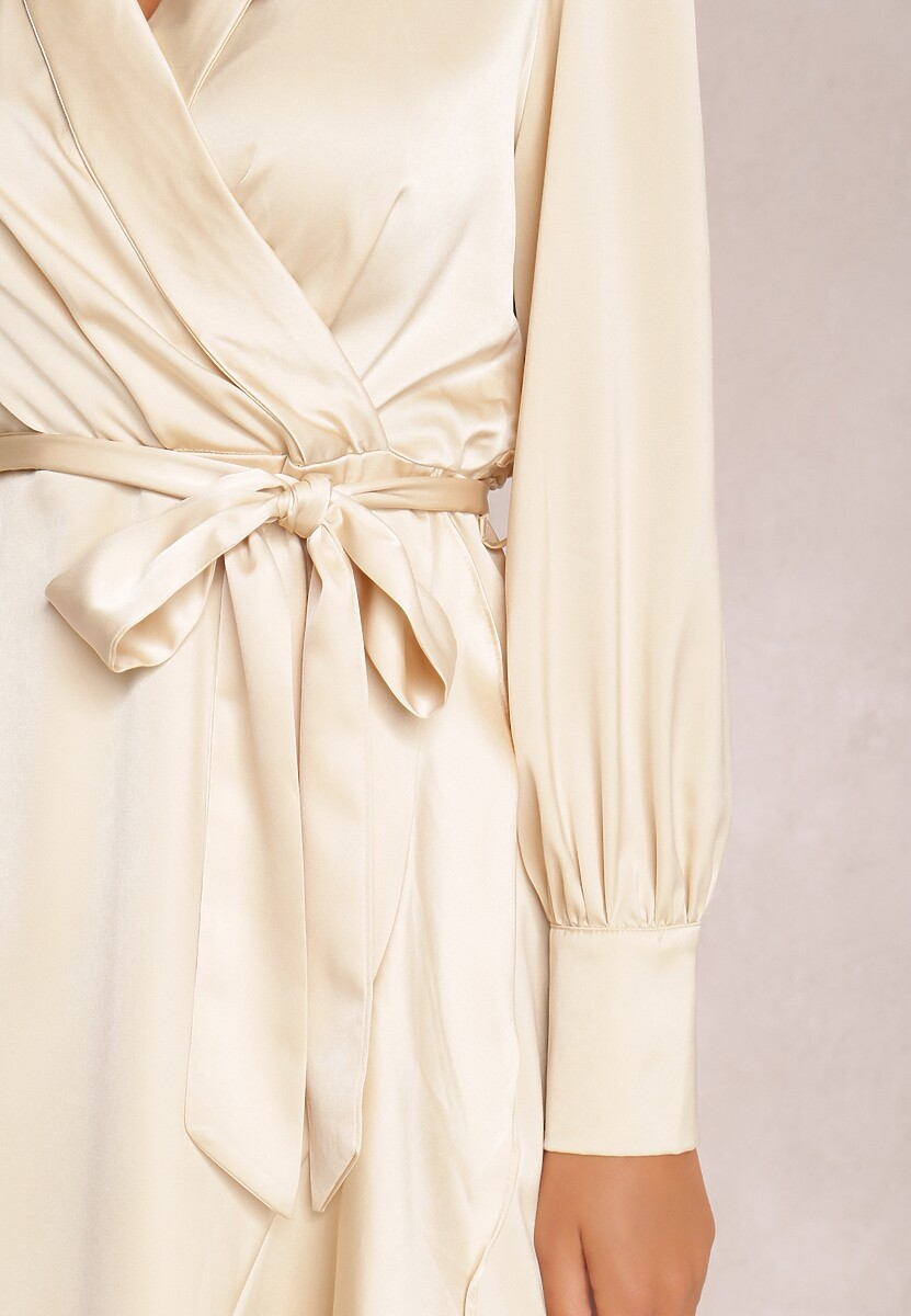 Jasnobeżowa Sukienka Rizarenar