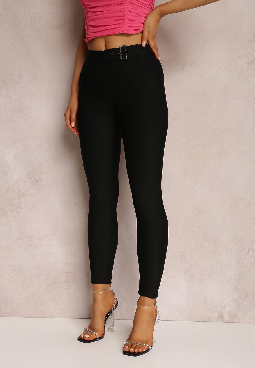 Czarne Spodnie Skinny Swiftcut