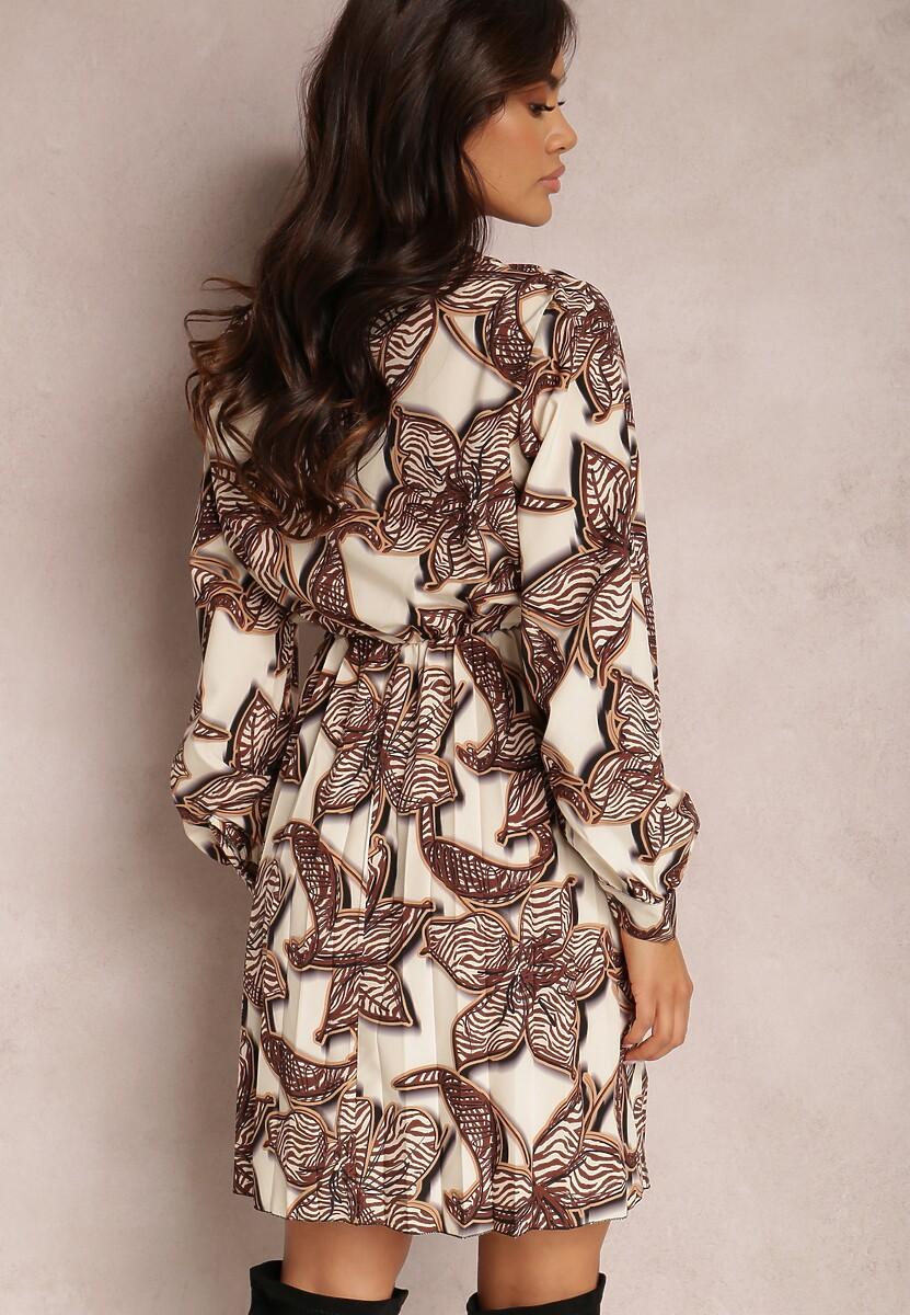 Kremowa Sukienka Azernear