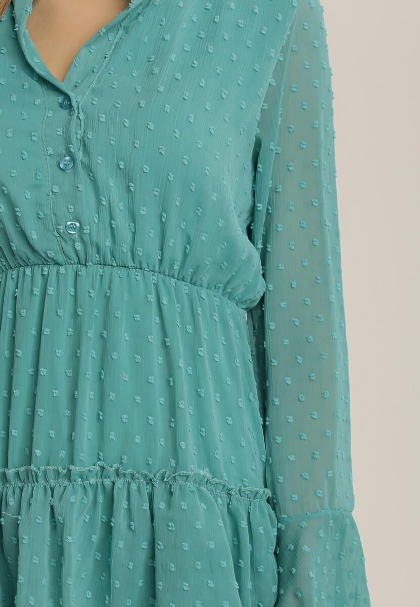 Miętowa Sukienka Whifflebird