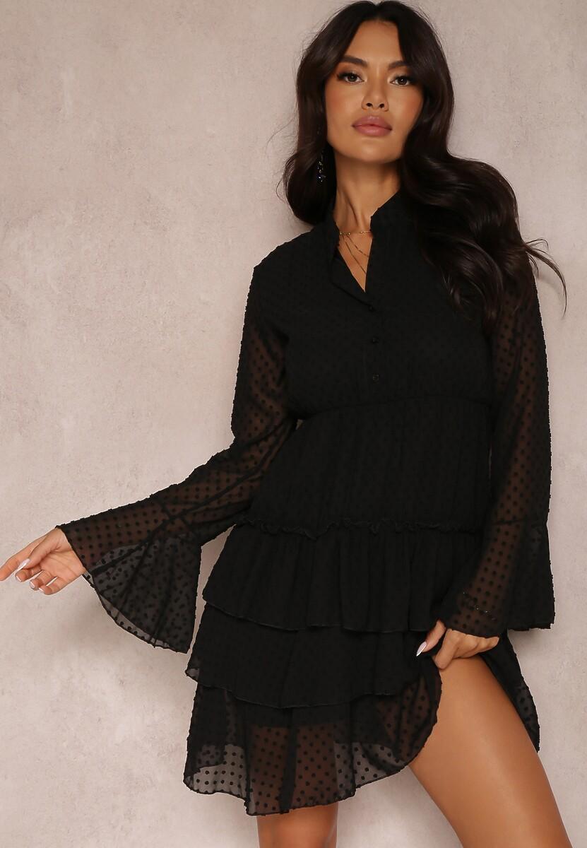 Czarna Sukienka Whifflebird
