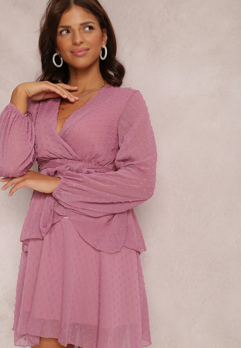Ciemnoróżowa Sukienka Shadebinder