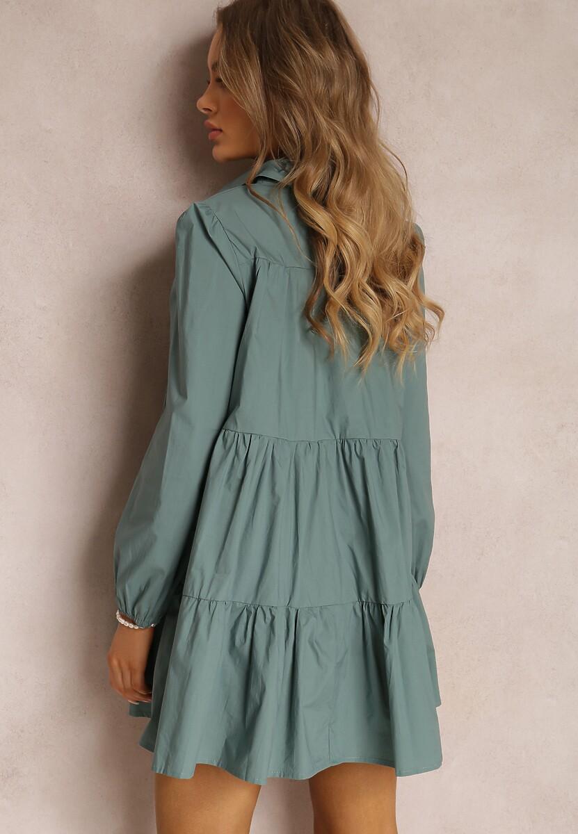 Niebieska Sukienka Hazestrike
