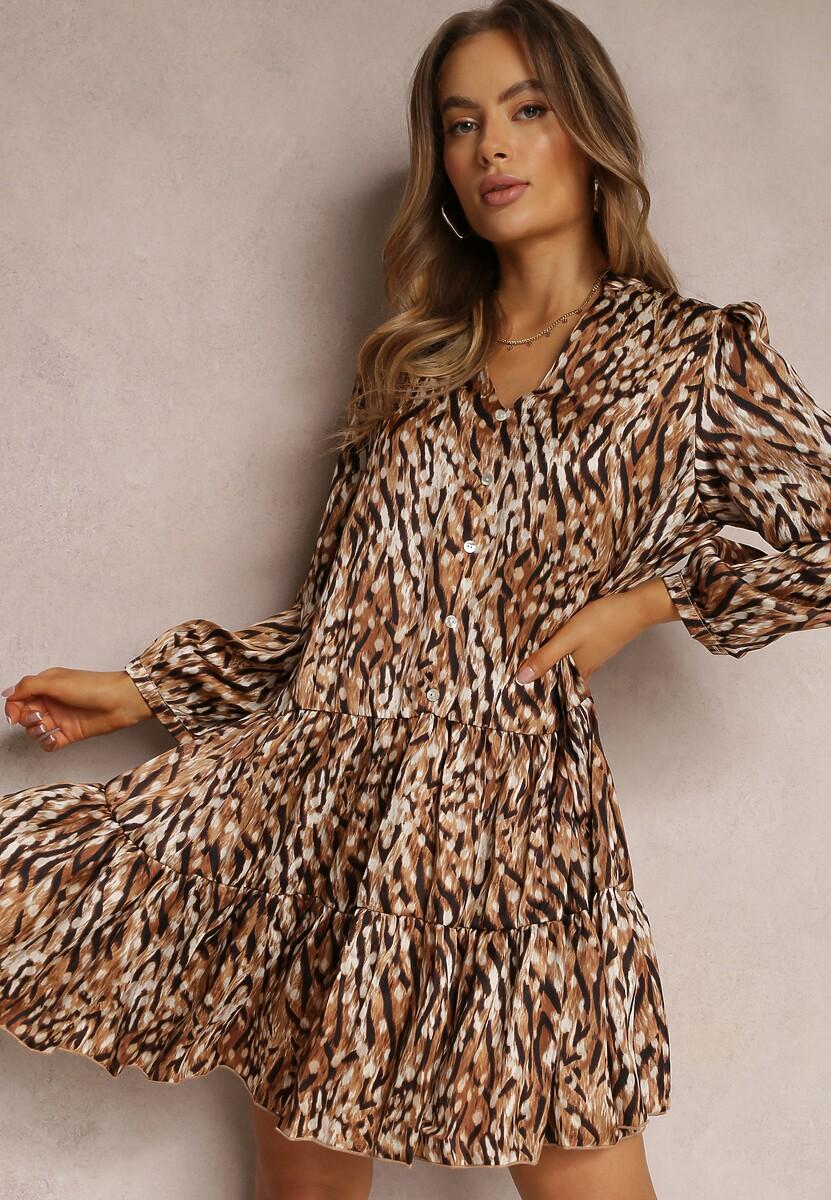 Camelowa Sukienka Simpleswift