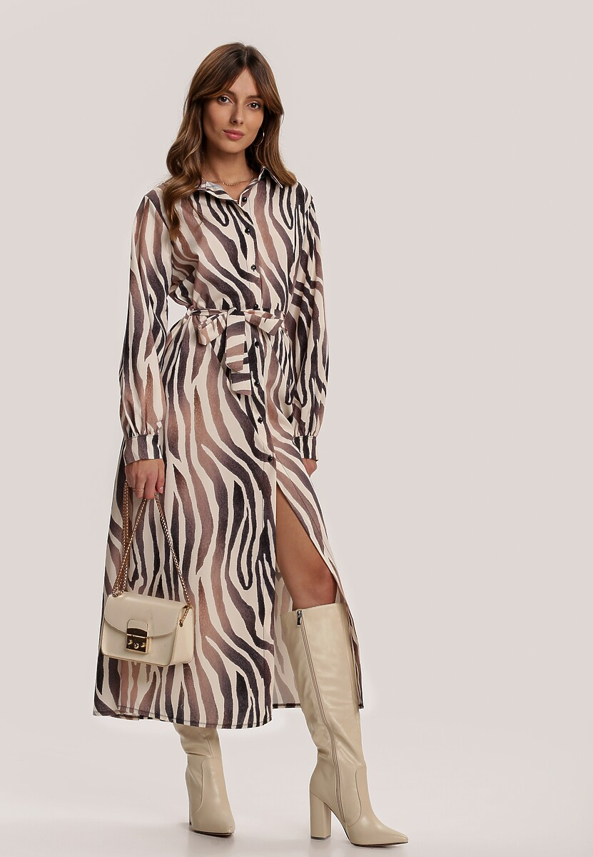 Kremowa Sukienka Fancyflash