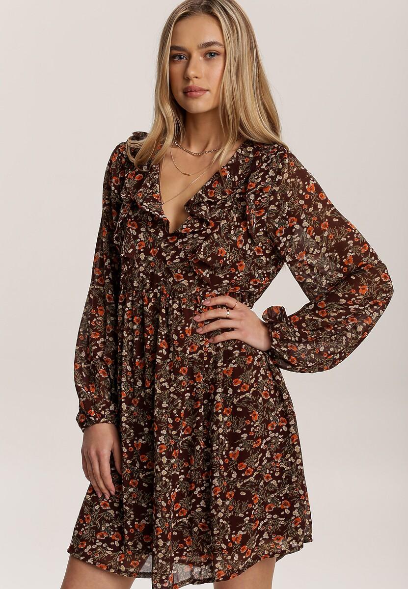 Brązowa Sukienka Citrustree