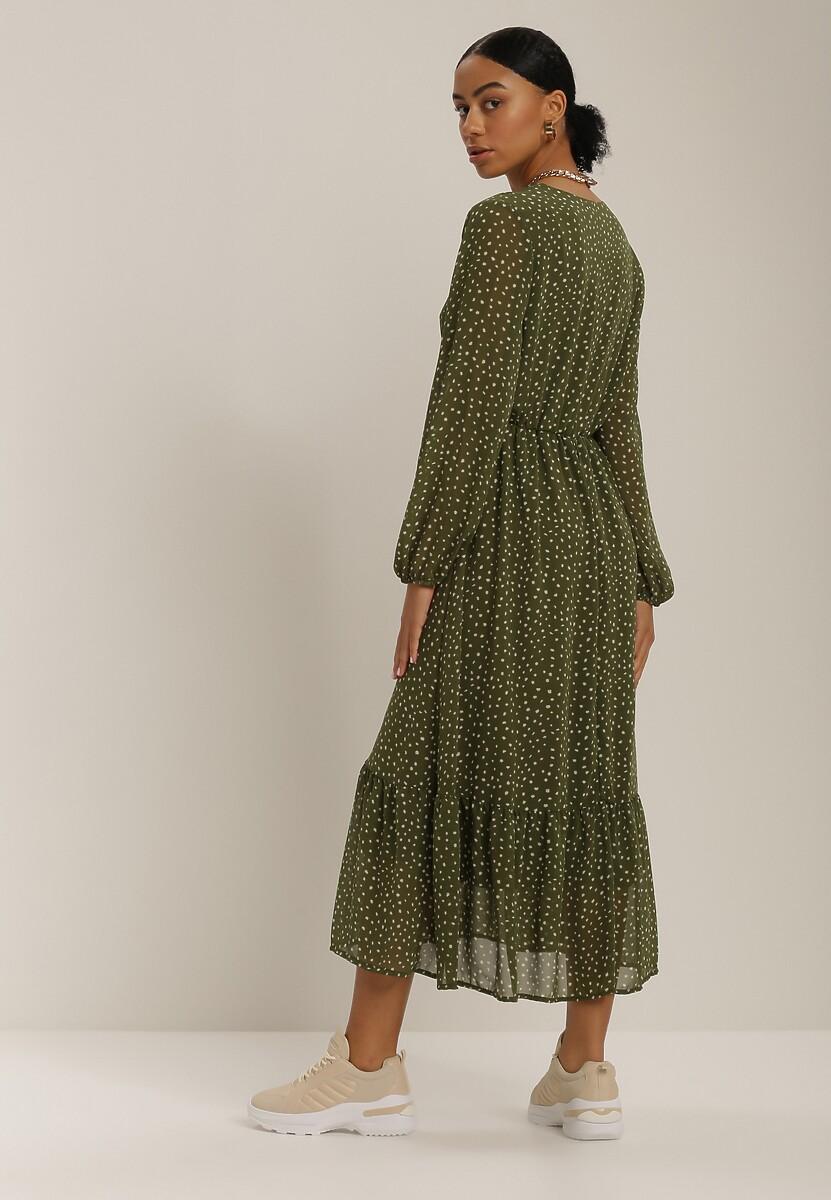 Zielona Sukienka Wheatmore