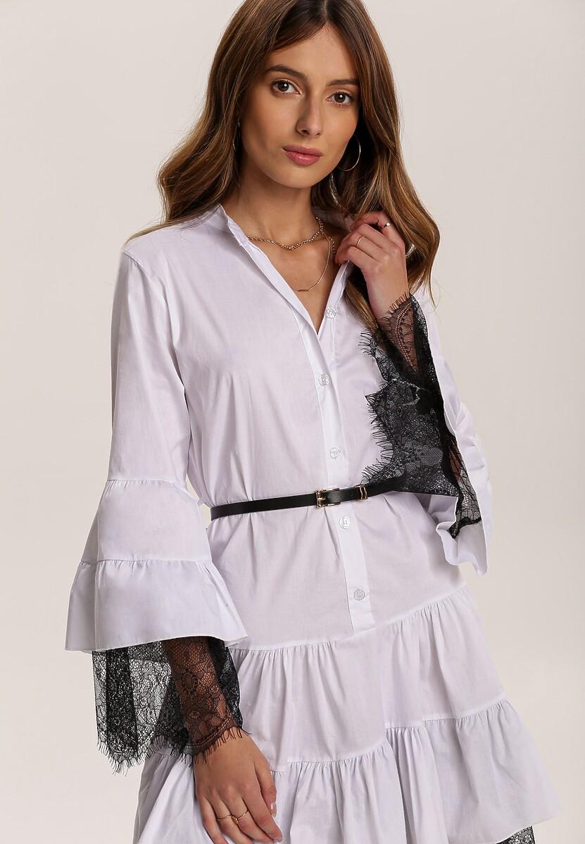 Biała Sukienka Singleflow