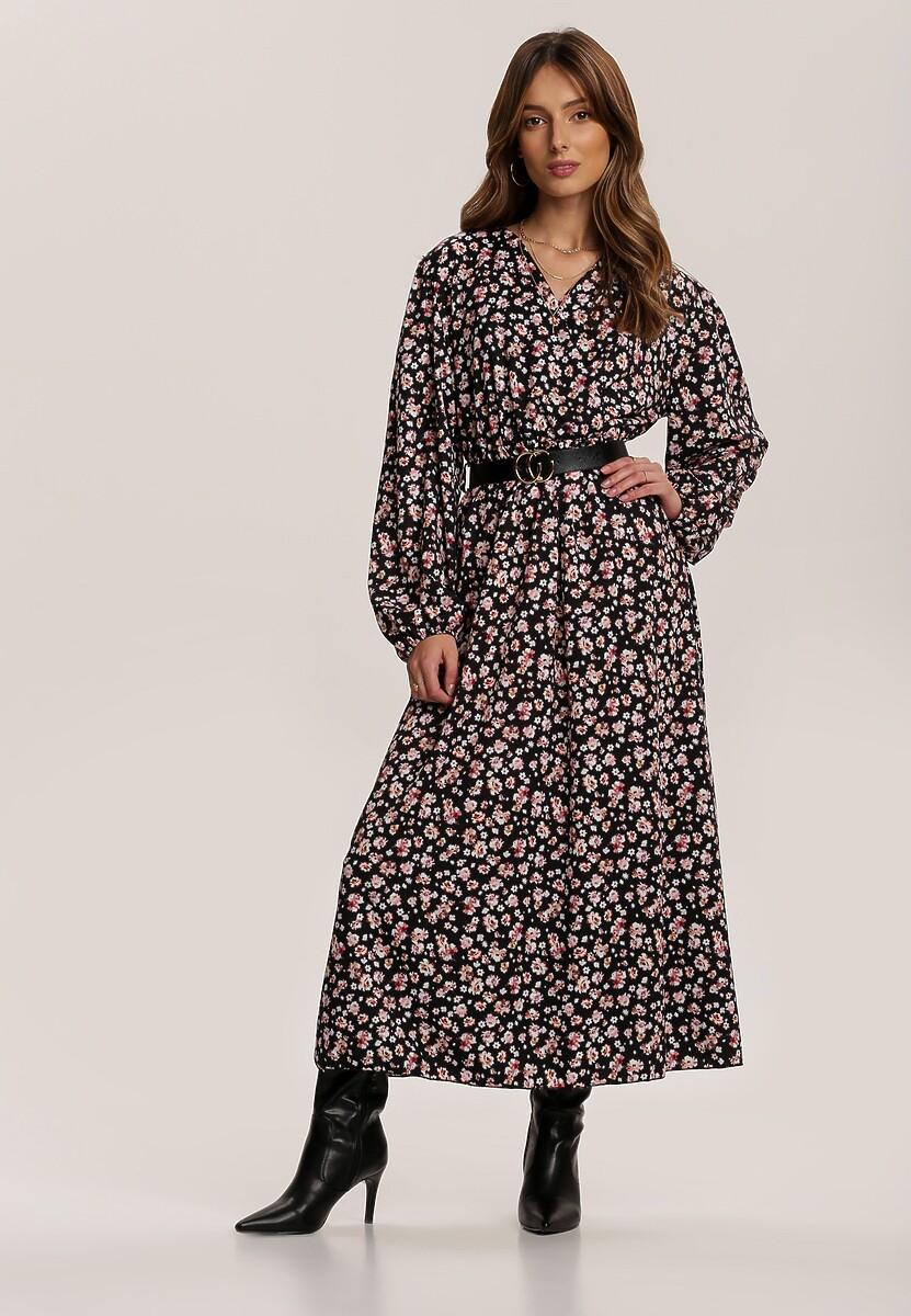 Czarna Sukienka Cottonbutter