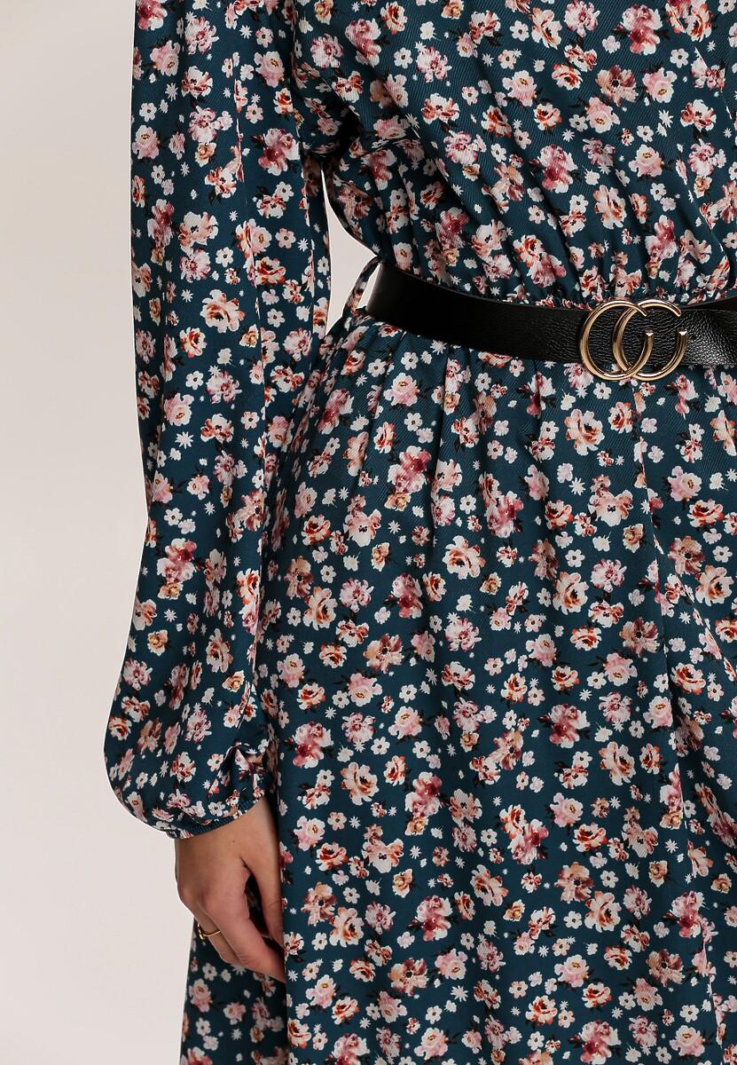 Niebieska Sukienka Cottonbutter