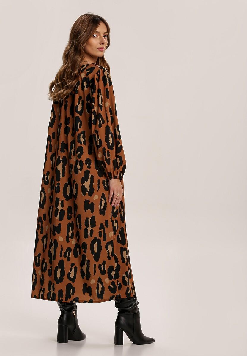 Panterkowa  Sukienka Figbloom