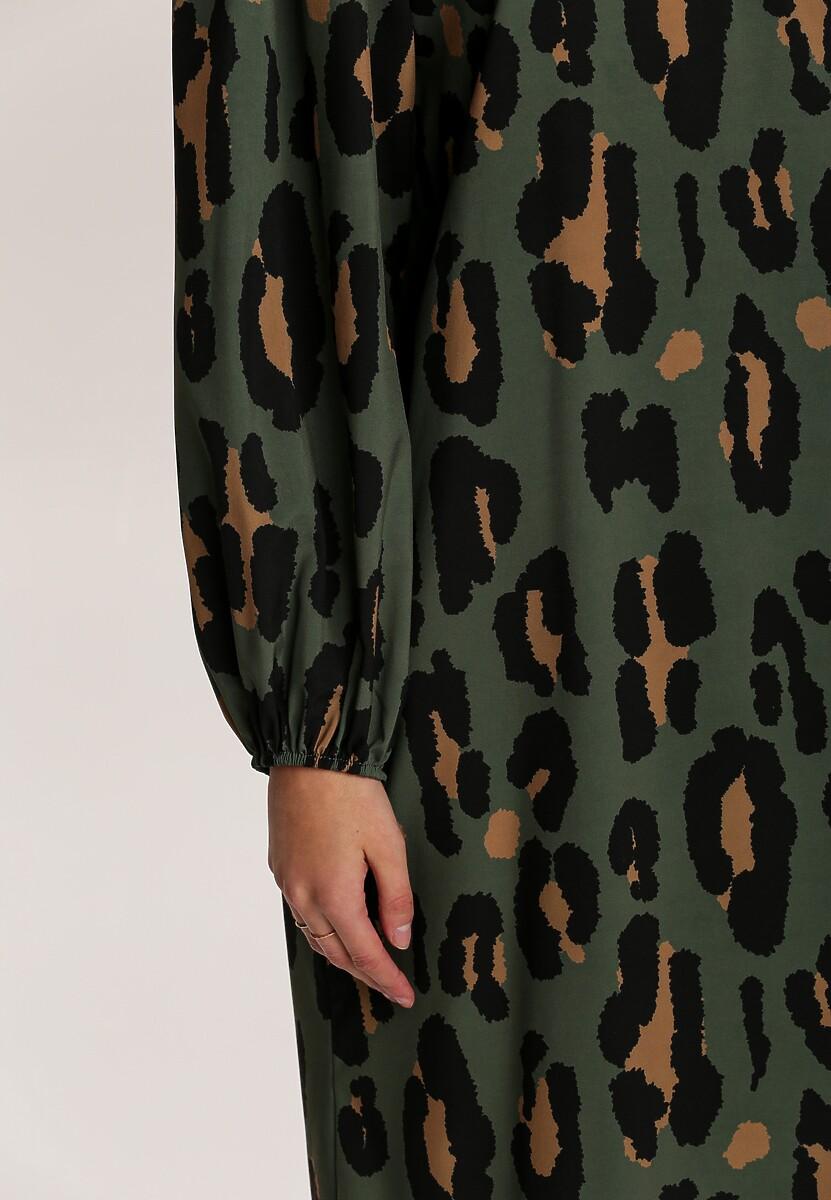 Zielona Sukienka Figbloom