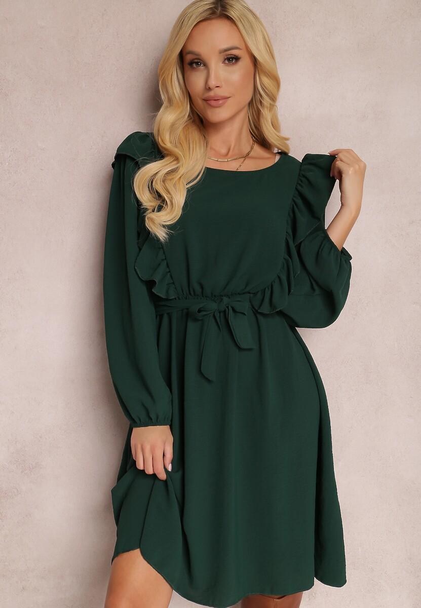 Zielona Sukienka Hazeltoss