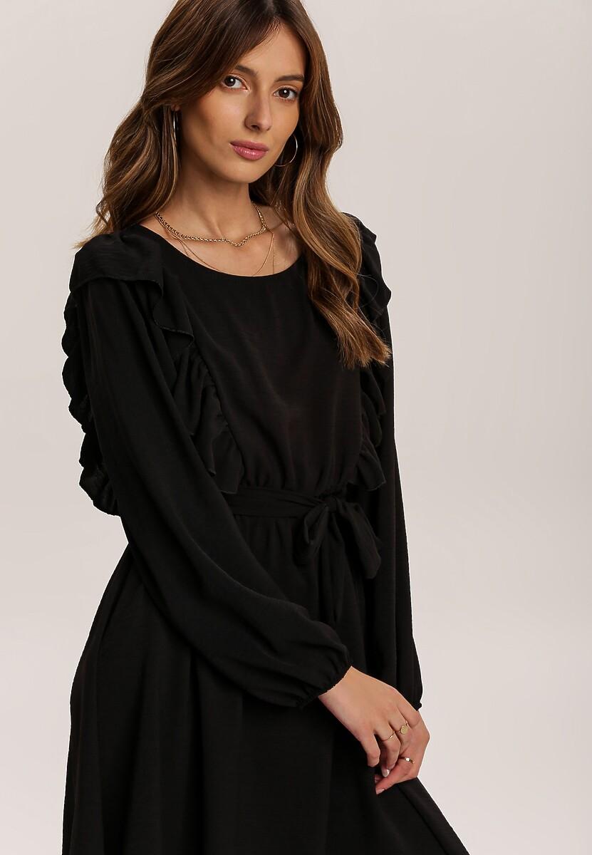 Czarna Sukienka Hazeltoss