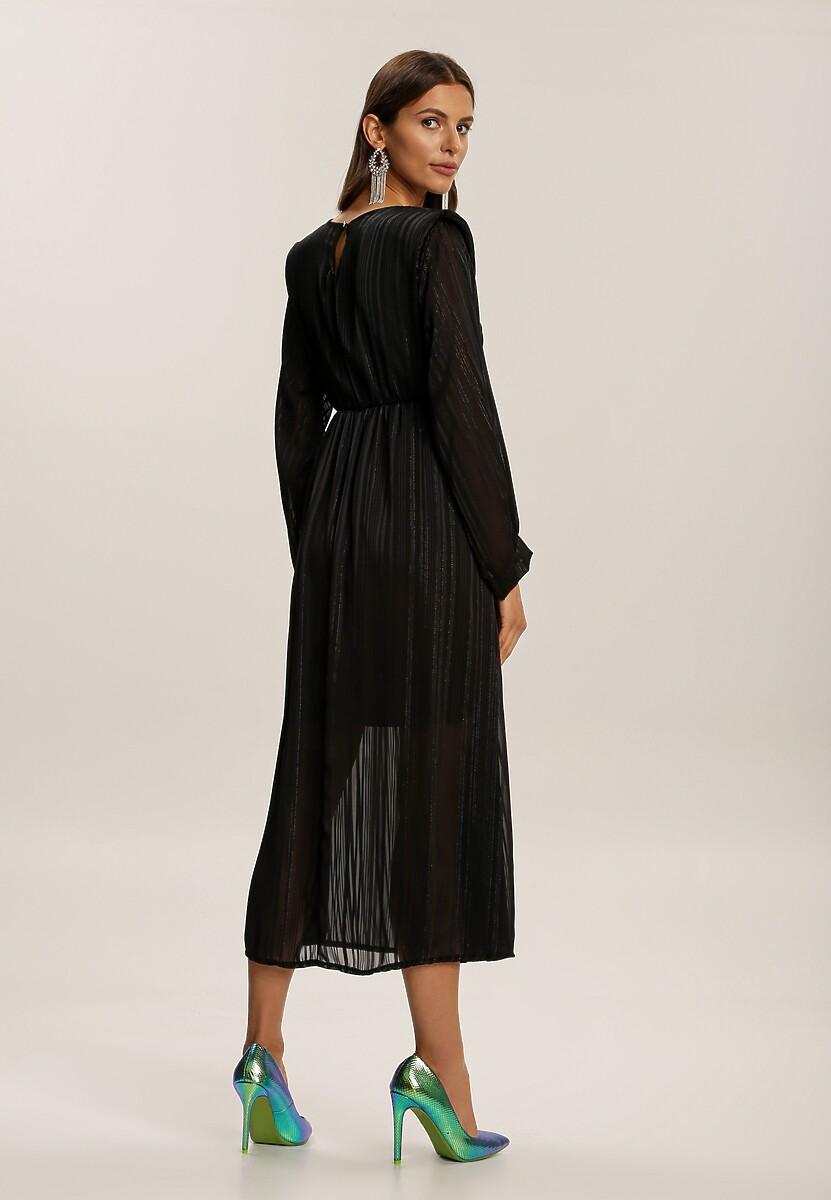 Czarna Sukienka Nightvine