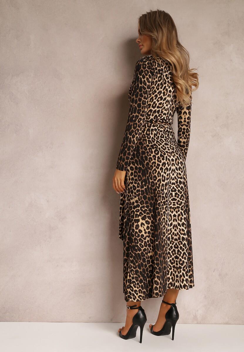 Ciemnobrązowa Sukienka Brightfreeze