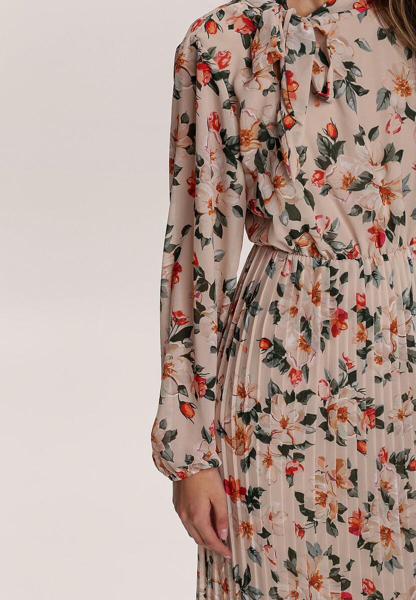 Jasnobeżowa Sukienka Murroorg