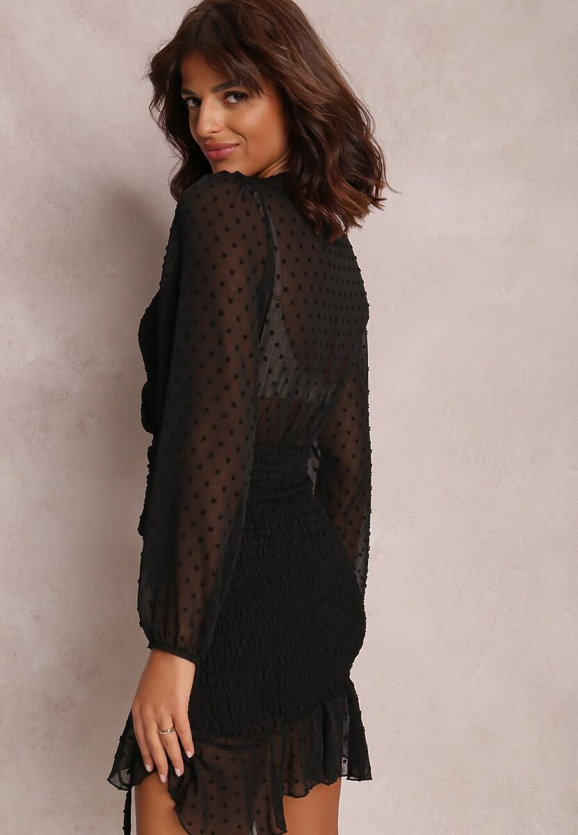Czarna Sukienka Ianbanise