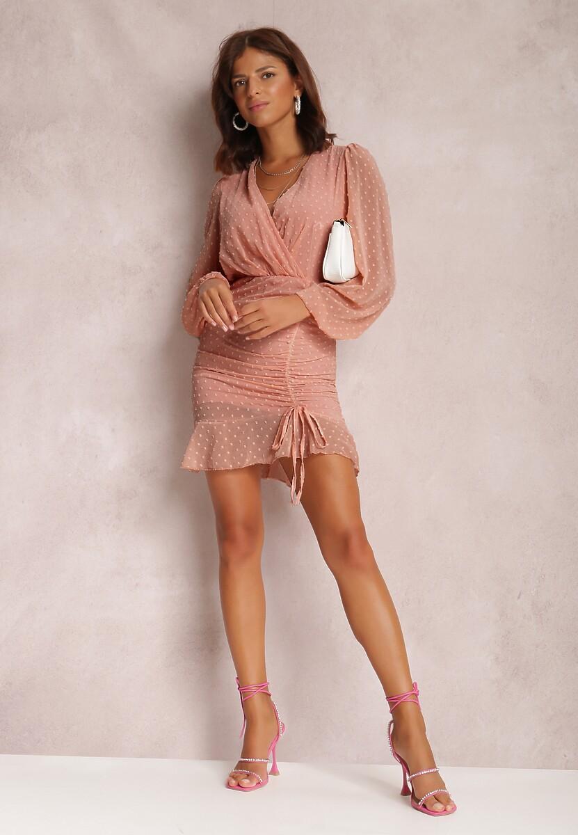 Jasnoróżowa Sukienka Ianbanise