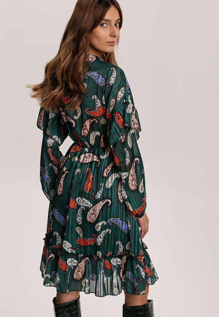 Zielona Sukienka Yelmys