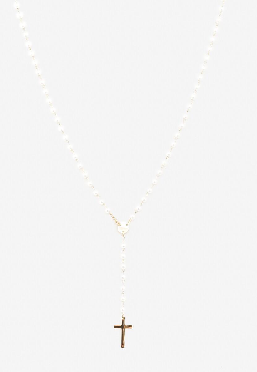 Biały Naszyjnik Bisys