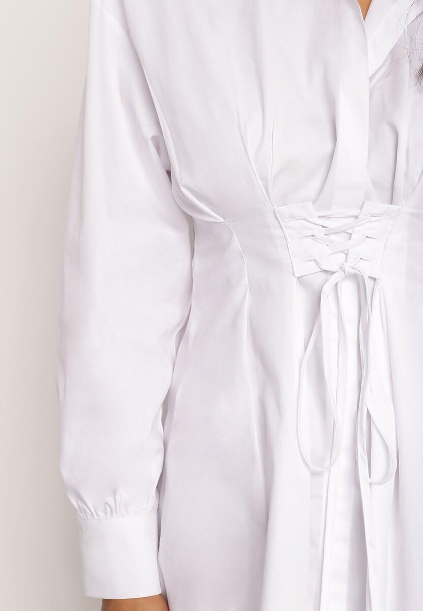 Biała Sukienka Leosys