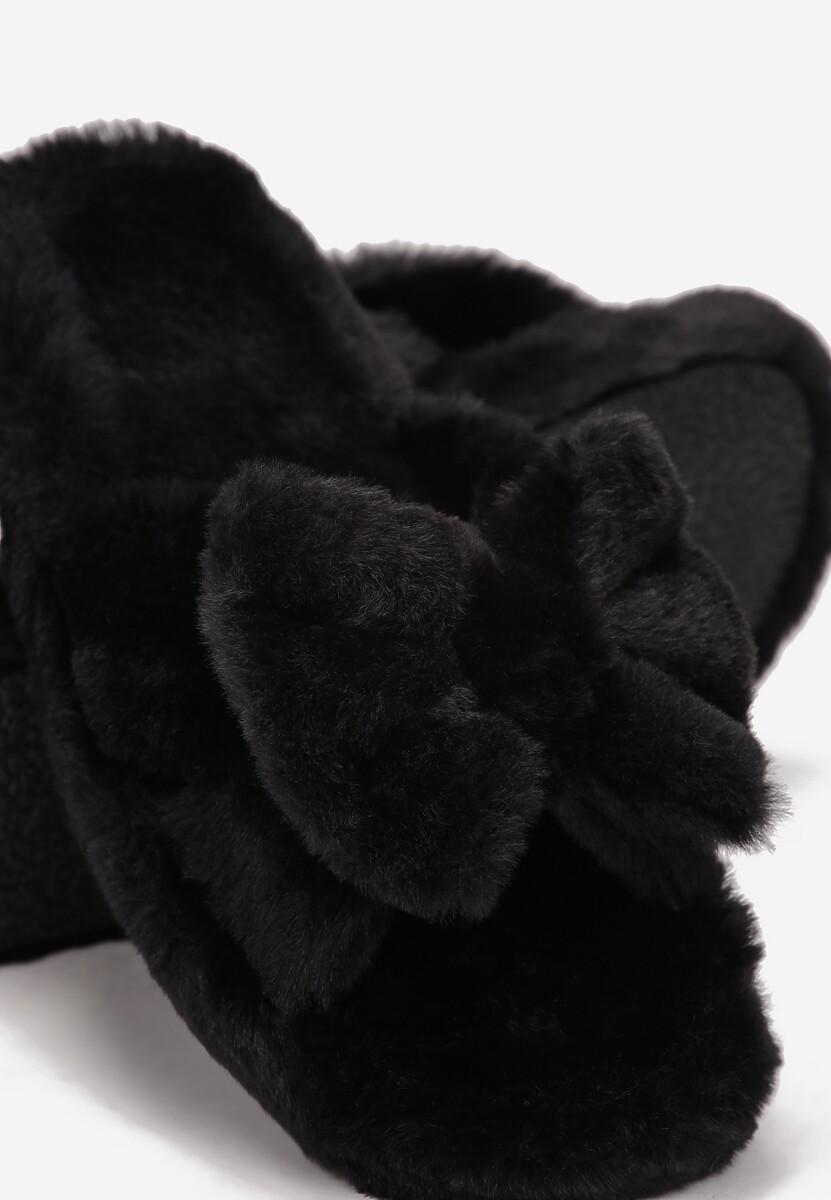 Czarne Kapcie Elafina