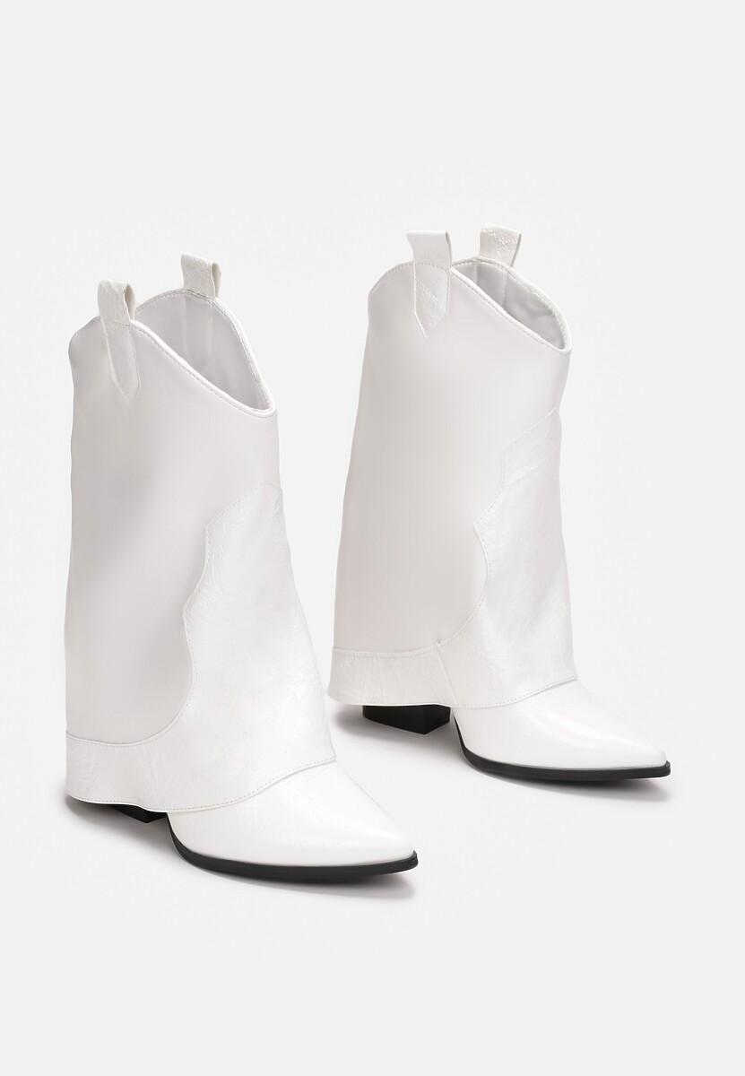 Białe Botki Adrietina