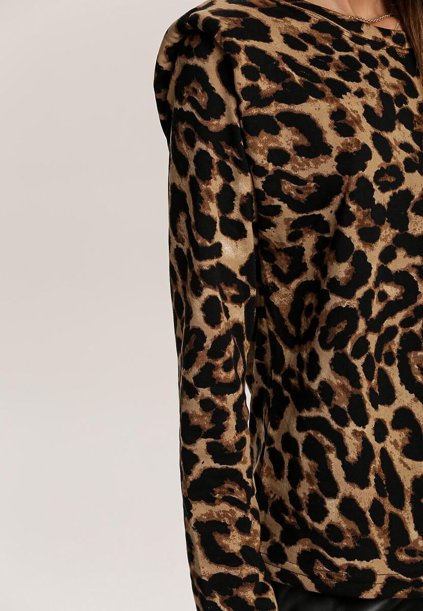 Czarno-Beżowa Bluzka Wildpond