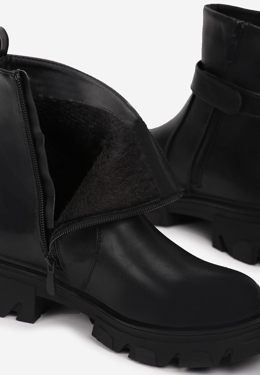 Czarne Botki Shemara