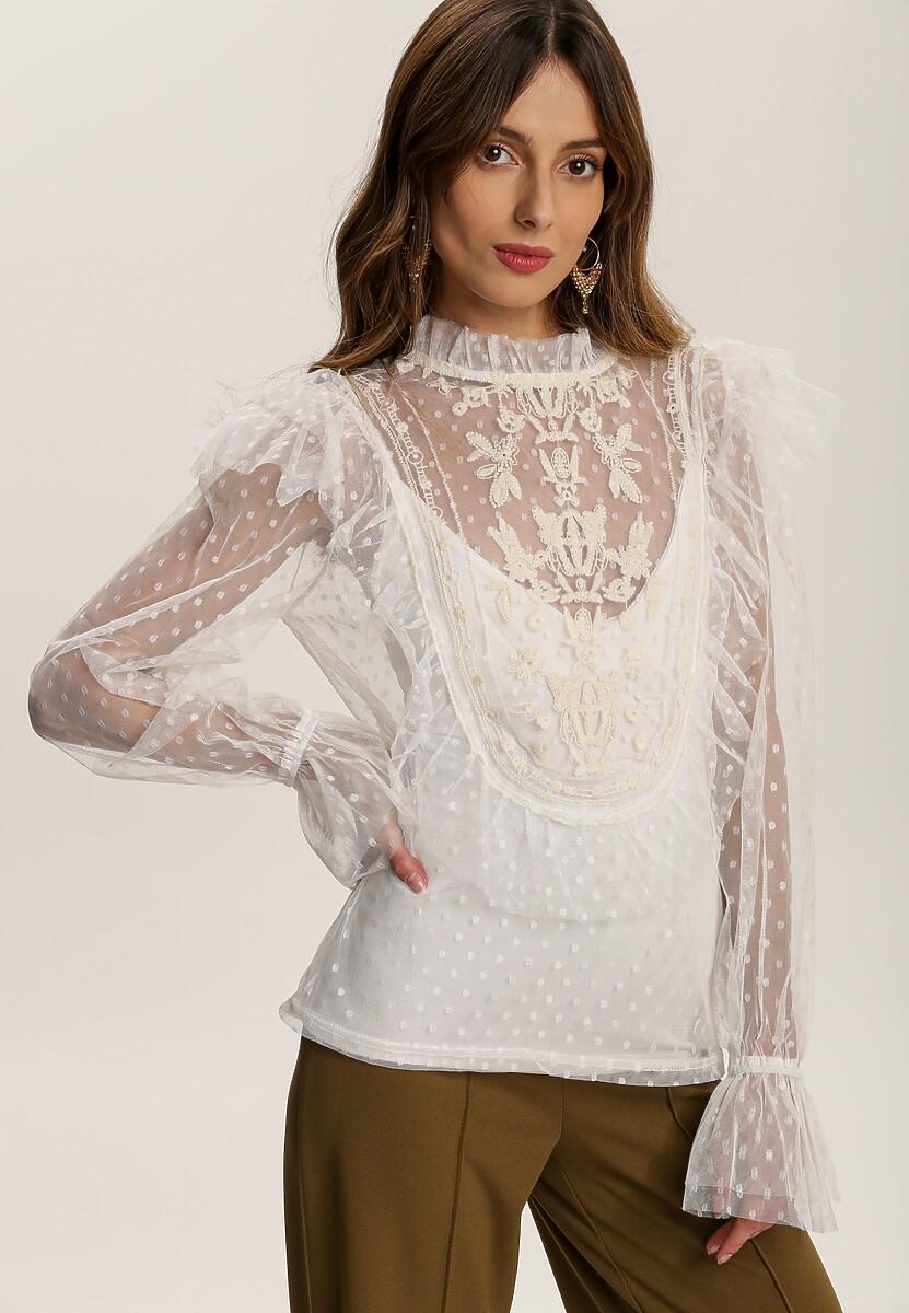 Biała Bluzka Nedales
