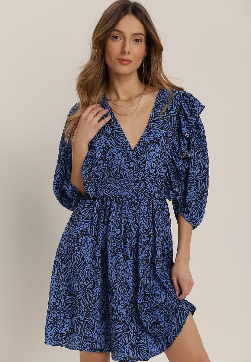 Niebieska Sukienka Nonasise
