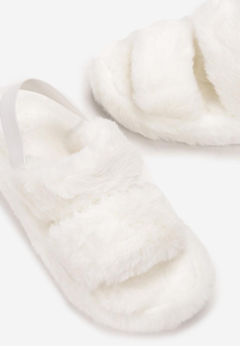 Białe Kapcie Littleflip