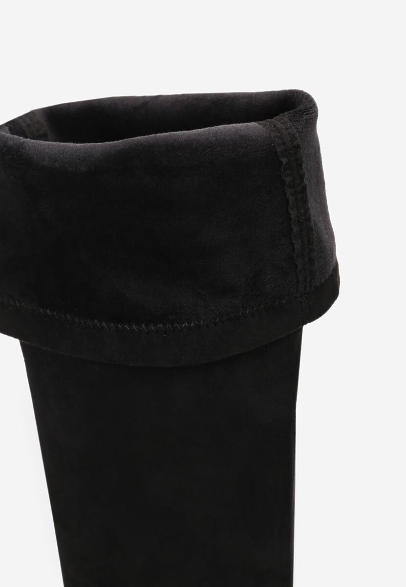 Czarne Kozaki Frozenbite